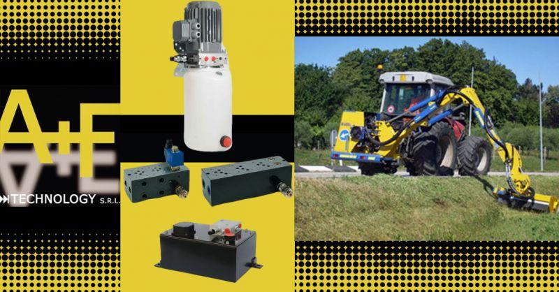 Offerta sistemi oleodinamici per Impianti di sollevamento automobili e Dispositivi per sondaggio terreni Vicenza