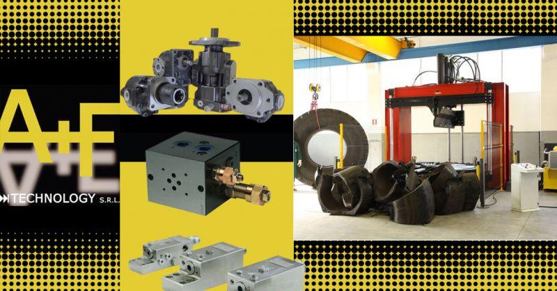 Offerta Componenti per sistemi oleodinamici Macchine lavorazione dei pneumaticie e lavorazione della lamiera Vicenza