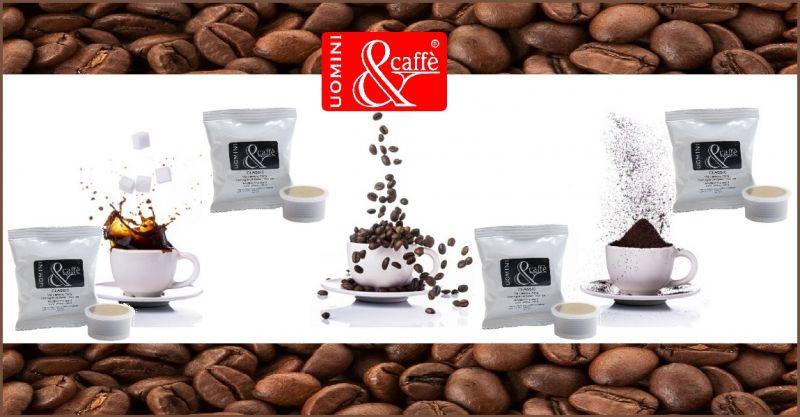 UOMINIECAFFESHOP PROMOZIONE vendita online CAPSULE CAFFE' CLASSICO COMPATIBILI LAVAZZA POINT