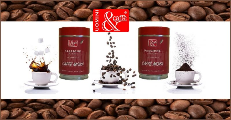 UOMINIECAFFESHOP OFFERTA VENDITA ONLINE BARATTOLO GR 250 CAFFE' MOKA MISCELA PASSIONE ARABICA