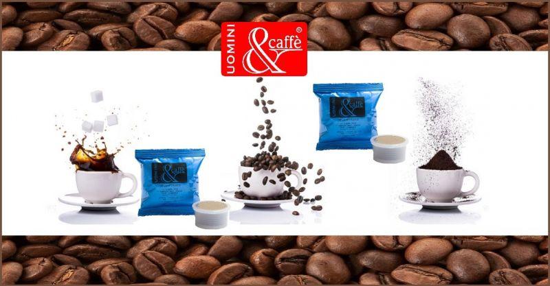 UOMINIECAFFESHOP OFFERTA vendita CAPSULE CAFFE' DECAFFEINATO COMPATIBILI LAVAZZA POINT 50 Pezzi