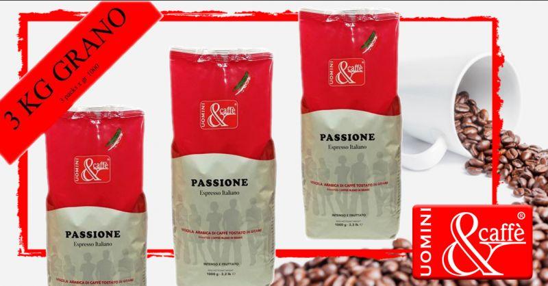 Offerta Caffè in Grano Espresso Arabica - Occasione Vendita Caffè in Grani Miscela Arabica Vicenza
