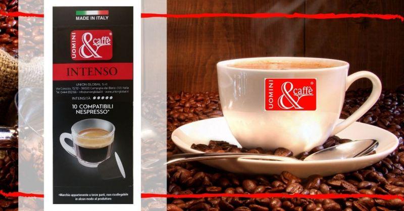 Uomini & Caffè - Offerta vendita online capsule Caffè compatibili NESPRESSO ARABICA e ROBUSTA