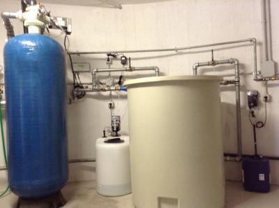 impianto addolcimento acque con sistema antilegionella per hotel e case di riposo vicenza