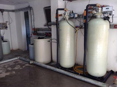 impianto addolcimento acque con sistema anticalcare per hotel ristoranti ospedali vicenza