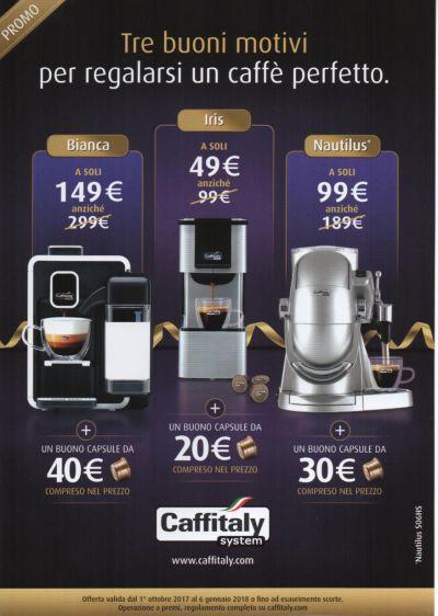 offerta macchine caffe espresso caffitaly occasione caffitaly ancona cdr sabini luciana