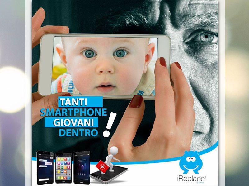 offerta smartphone rigenerati promozione telefoni rigenerati i replace roma nomentana