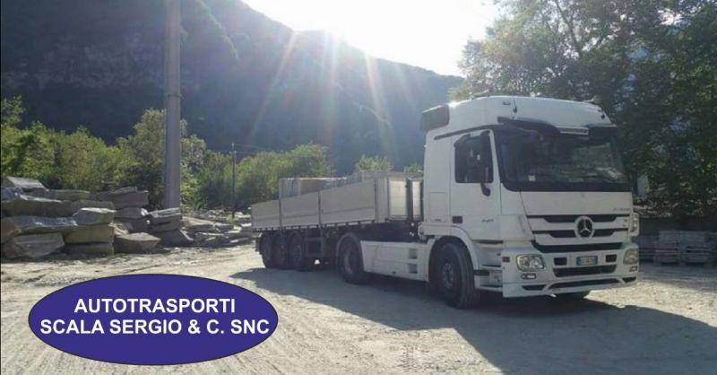 AUTOTRASPORTI SCALA SERGIO offerta trasporto graniti - occasione trasporto marmi per edilizia