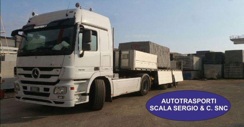 AUTOTRASPORTI SCALA SERGIO offerta servizi di autotrasporti - occasione lavorazione di graniti