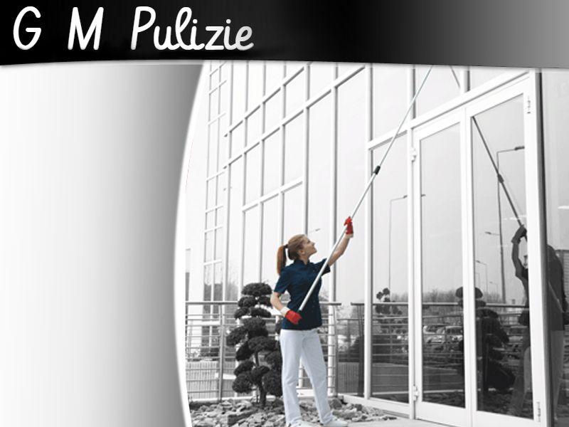 Offerta Pulizia Vetrate - Promozione pulizia vetrate esterne - G.M. Pulizie