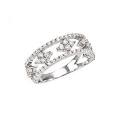 da il gioiello trovi la collezione bliss gioielli ginger anello argento e cubic zirconia