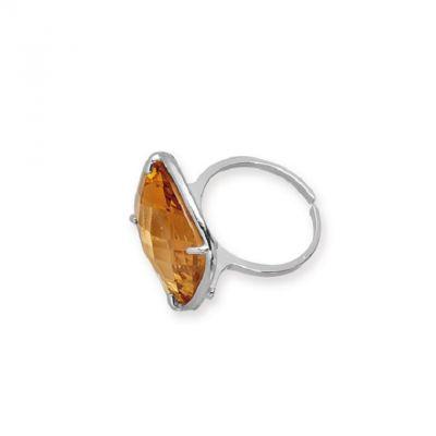 da il gioiello collezione ottaviani gioielli anello argento gemma