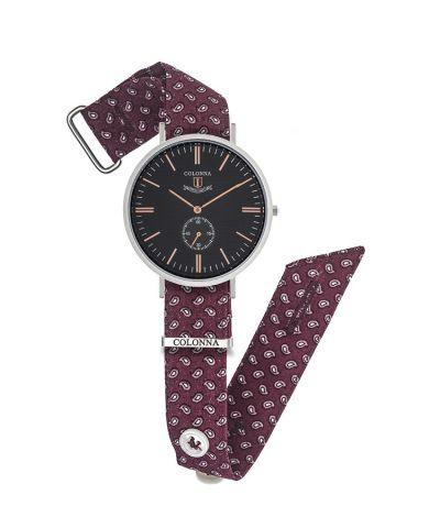 il gioiello collezione orologi colonna michelangelo vintage uomo orologio rosso fantasia