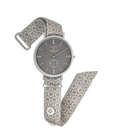 da il gioiello orologi colonna orologio macro fantasia quadrante grigio