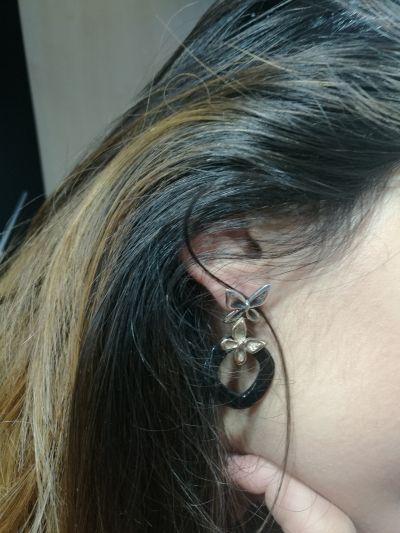 da il gioiello trovi orecchini nemoris in argento bronzo e metacrilato