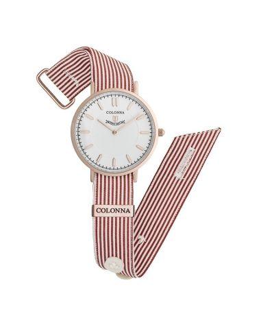 da il gioiello trovi orologi colonna collezione michelangelo uomo orologio a righe strette