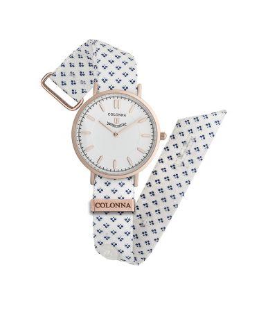 da il gioiello collezione orologi colonna orologio micro fantasia bianco
