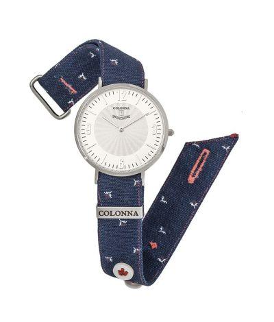 da il gioiello trovi orologio jeans micro fantasia collezione orologi colonna