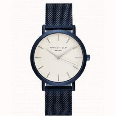 da il gioiello trovi collezione rosefield orologio da donna the mercer new blue