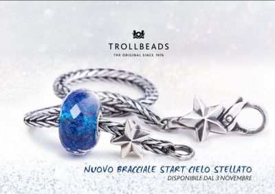 gioiello promo trollbeads bracciale cielo stellato gioelleria regali