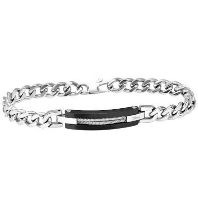 da il gioiello trovi bracciale bliss in acciaio collezione wire