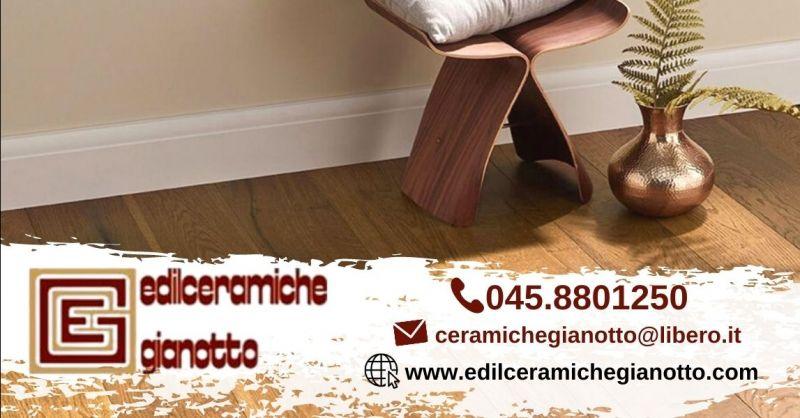 EDILCERAMICHE GIANOTTO - Promozione vendita pavimenti gres porcellanato effetto legno Verona