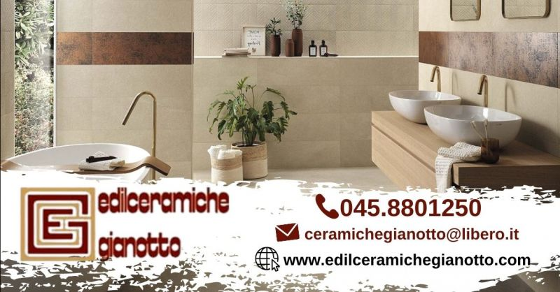 Promozione vendita piastrelle bagno moderno Verona - Offerta rivestimenti in ceramica per il bagno