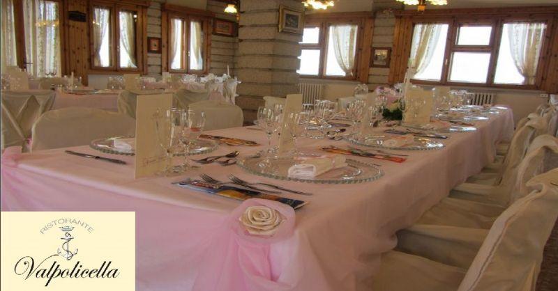 RISTORANTE VALPOLICELLA offerta menu per battesimo - occasione menu ristorante per battesimi