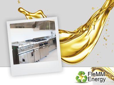 offerta smaltimento olio cucina promozione raccolta olio cucina vicenza verona flemm