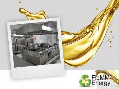 offerta smaltimento olio fritto promozione recupero olio fritto vicenza verona flemm
