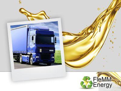 offerta ritiro olio cucina promozione trasporto olio cucina vicenza verona flemm energy