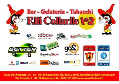 bar gelateria tabacchi f lli collarile ticket one go2 lis ticket viva ticket booking