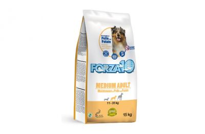 forza 10 medium maintenance pollo e patate 15 kg
