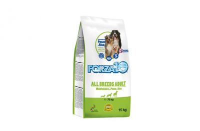 forza10 dog all breeds adult maintenance pesce e riso 15kg
