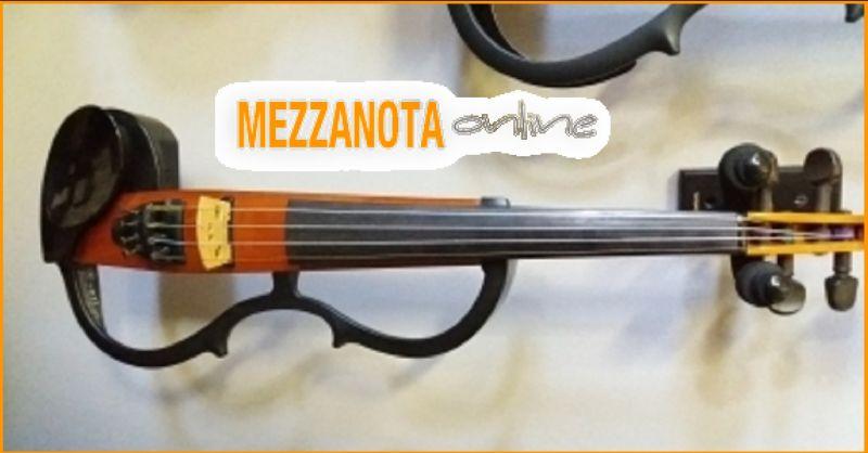 Mezzanota Music store OFFERTA USATO SILENT VIOLIN SV-100 OTTIME CONDIZIONI COMPLETO DI ASTUCCIO