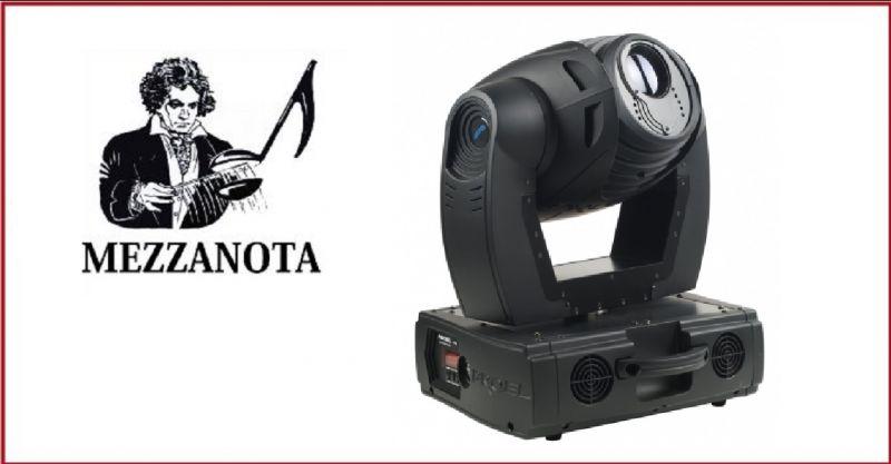 MEZZANOTA - Occasione usato PLML250SE Eclipse spot 250W PROIETTORE A TESTA MOBILE SPOT 250W
