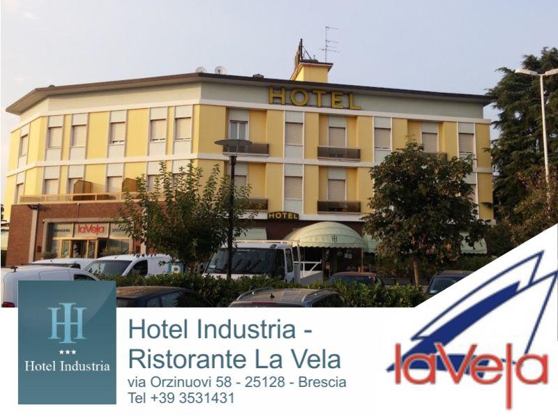offerta pernottamento weekend brescia-promozione albergo bs-hotel industria-ristorante la vela