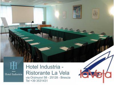 offerta pernottamento fiera brescia promozione meeting bs hotel industria ristorante la vela