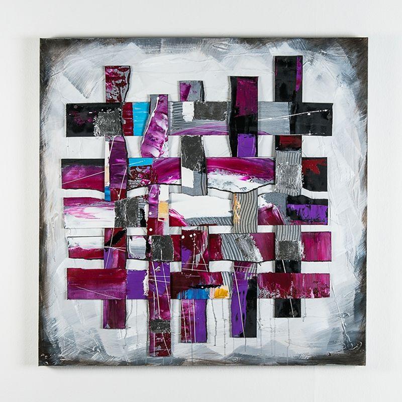 offerta dipinto a olio su tela inserti plastica