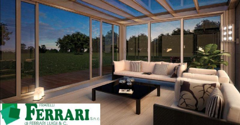 FRATELLI FERRARI SNC offerta veranda mobile Piacenza- occasione copertura per verande Piacenza