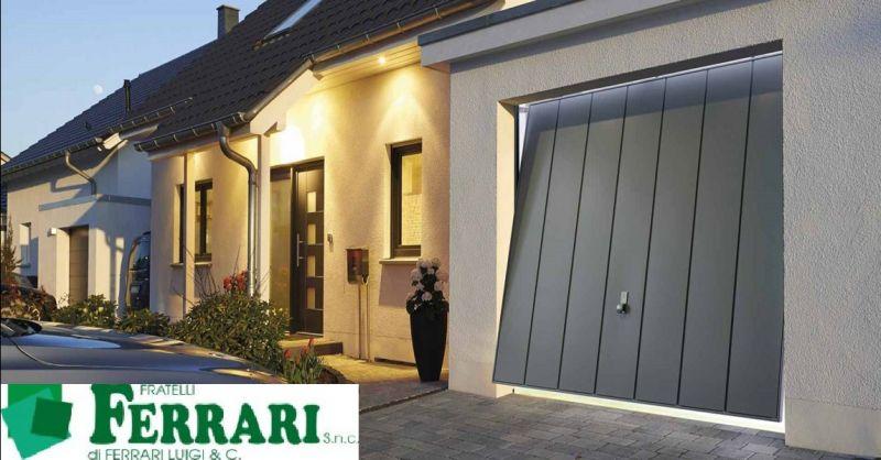 FRATELLI FERRARI SNC offerta vendita porte basculanti - occasione sezionali per garage Piacenza