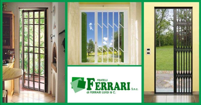 offerta installazione inferriate a Piacenza - occasione realizzazione grate di sicurezza