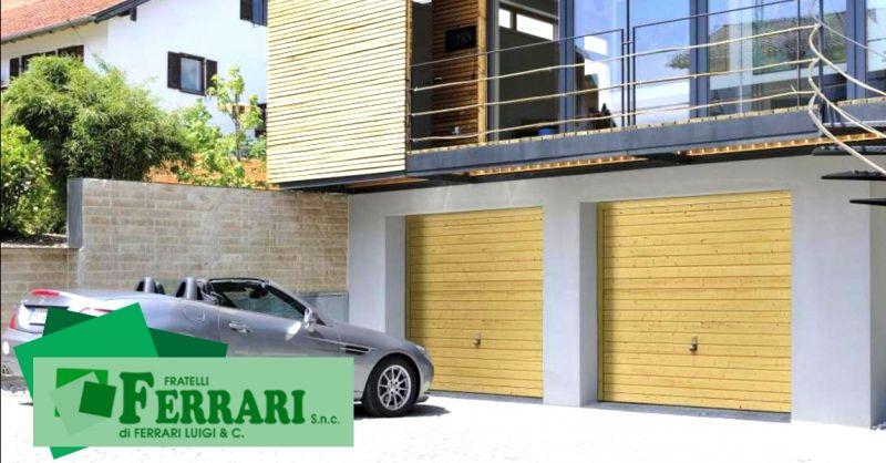 Promozione vendita porte basculanti Hormann - offerta installazione portoni per garage Piacenza