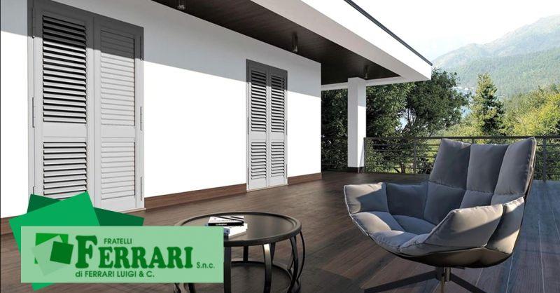 Promozione vendita persiane alluminio blindate - offerta installazione scuri finestre Piacenza