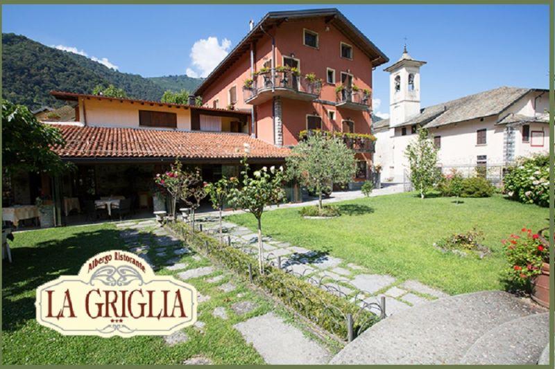 Hotel Angebot mit Aussicht auf den Comer See - LA GRIGLIA Hotel in Como Angebot von Zimmern