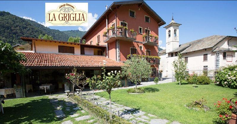occasione week end romantico con cena per due sul lago di Como - Albergo Ristorante LA GRIGLIA