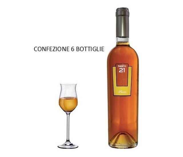 Offerta - Vino Passito Sesto 21 - 6 Bottiglie
