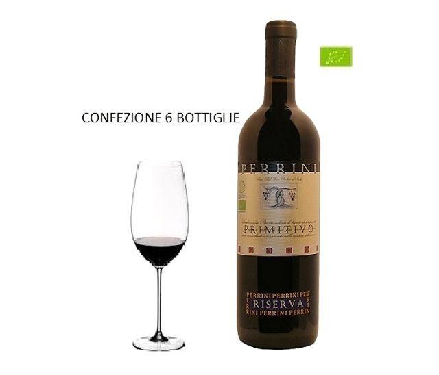 Offerta - Primitivo Riserva - 6 bottiglie