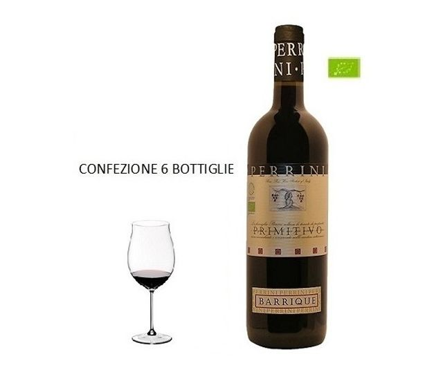 Offerta - Primitivo Barrique 2015 - 6 bottiglie