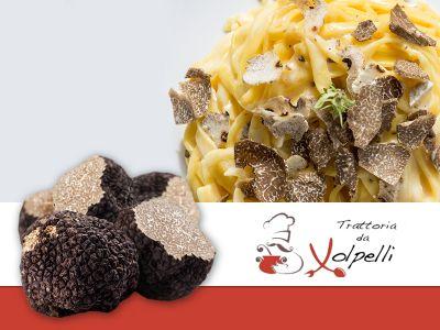 offerta scorzone estivo promozione specialita tartufo umbertide trattoria volpelli